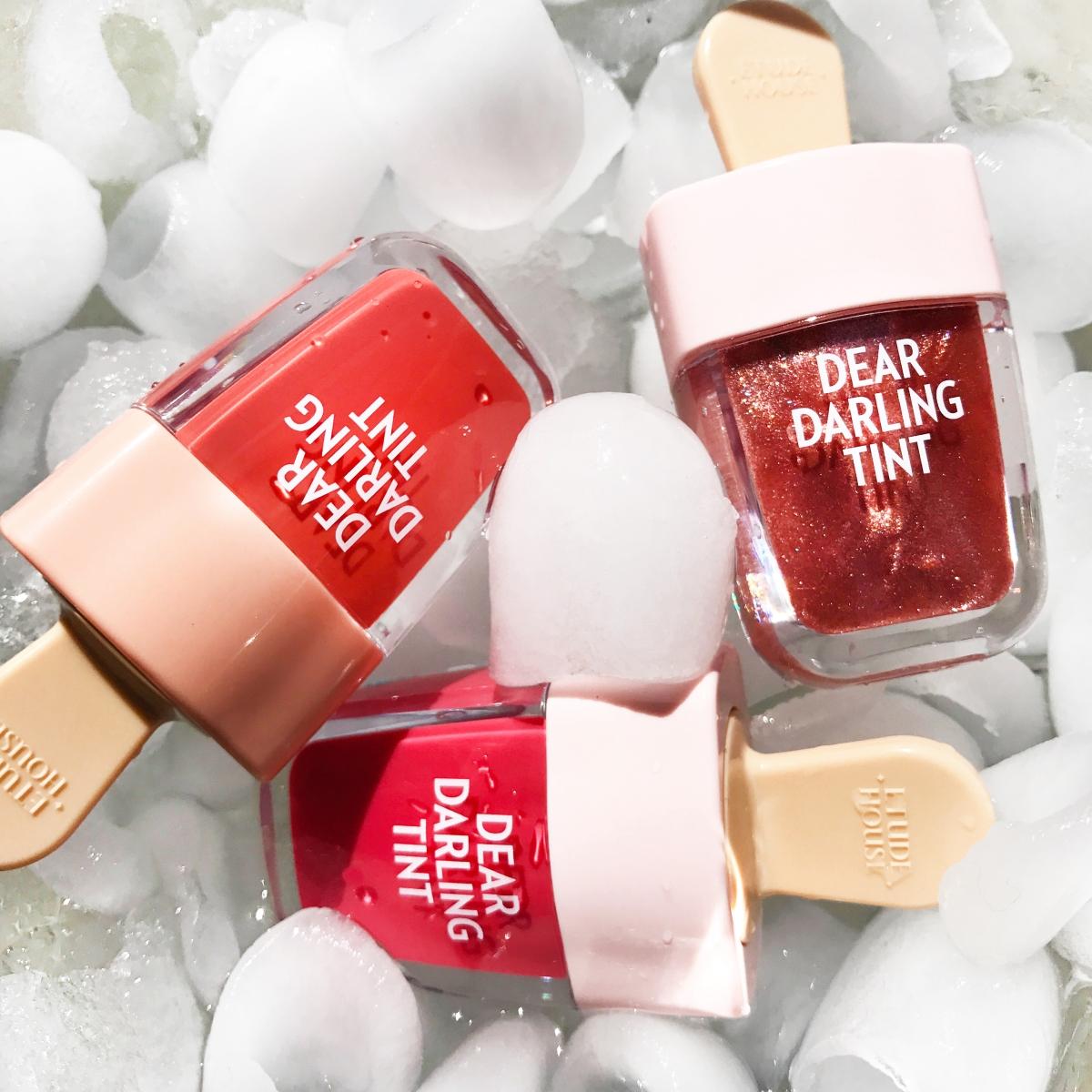 Ridiculously Cute Popsicle Lip Tints Memebox Blog Etude House Dear Darling Water Gel Tint Ice Cream